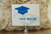 "Image of Grad- ""You Rock! Congratulations"""