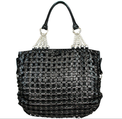 "Image of The ""Sid Vicious"" - Black Handbag"