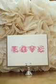 Image of LOVE: Woodsy Type Card