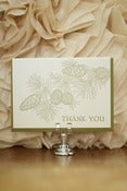 Image of Pine Bough Thank You Card
