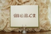 Image of Merci Woodsy Card