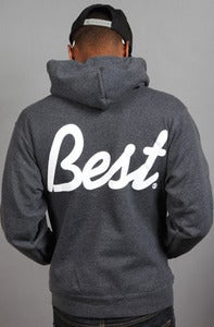 Image of BEST Hoodie Charcoal