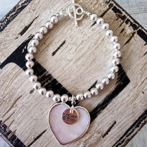 Image of Boho Heart Bracelet