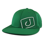 Image of Flatline Fitted Hat - Green