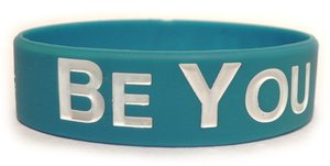 Image of Be You (tiful) Wristband - Blue