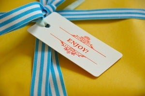 Image of Enjoy Gift Tags - Set of 10