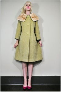Image of Susan Fur Collar Coat