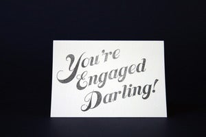 Image of You're engaged darling!