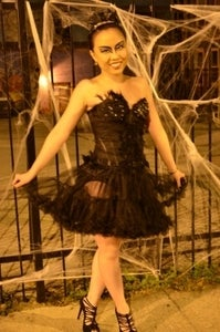 Image of Black Swan Halloween Costume