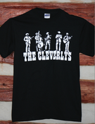Image of The Cleverlys Black T Shirt