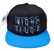Image of NSH001 | Starter Snapback [BLACK/BLUE]