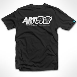 Image of ART shokai (Black) Tee