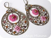 "Image of Boucles d'oreilles ""arabesque"""