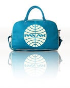 Image of PAN AM OVERNIGHT HOLDALL (Turquoise)