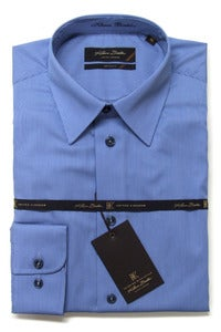 Image of KLAUSS KL7-702 BLUE SHIRT
