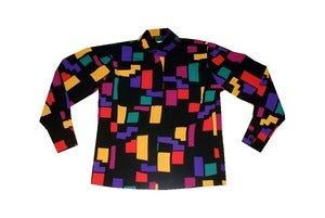 Image of Pierre Cardin Color Block Blouse