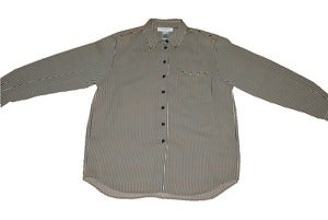 Image of B&amp;W Gold Stud Blouse