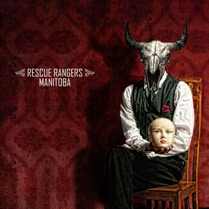 "Image of RESCUE RANGERS ""Manitoba"" BUNDLE - Limited Red colored LP + CD + POSTER"