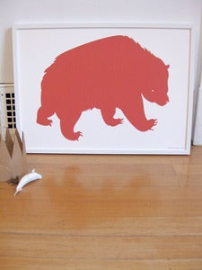 Image of The Red Bear Print