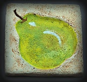 Image of Original Art - Pear Coasters