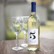 Image of Table Number Wine Labels