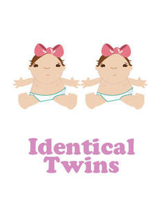 Image of identical twins