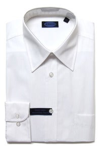 Image of AN705 ANGO PLAIN WHITE SHIRT