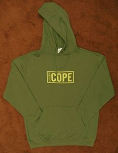 Image of Cope Green Logo Hoodie