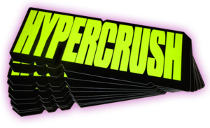 Image of HYPER CRUSH NEON STICKER PACK