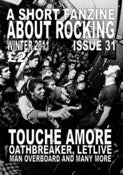 Image of A SHORT FANZINE ABOUT ROCKING