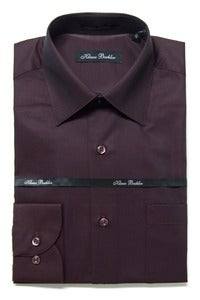 Image of KLAUSS KL745 BURGUNDY SHIRT