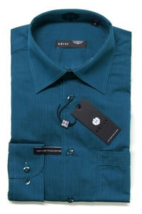 Image of HRST HR72734 TEAL SHIRT