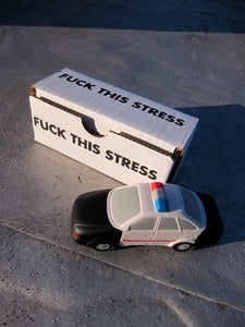 Image of Fuck This Stress - Cop Car