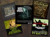 Image of zombie hate brigade CD's