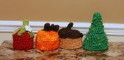 Image of Newborn Handspun Photo Prop Hat Pack (pdf #77)