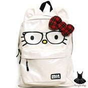 Image of HELLO KITTY NERD FACE BACKPACK