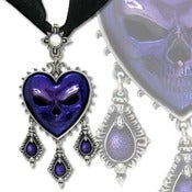 Image of The Purple Heart - Pendant Necklace