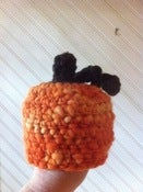 Image of Pumpkin Hat Newborn Handspun Crochet Pattern (pdf #81)