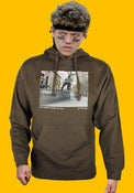 Image of Orchard Hooded Sweatshirt - Joey Pepper by Jerry Fowler - Army Green Heather