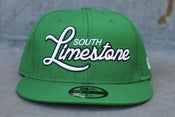 Image of SOUTH LIMESTONE new era fitted kelly green