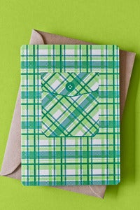 Image of Tree Huggin' Flanno Card