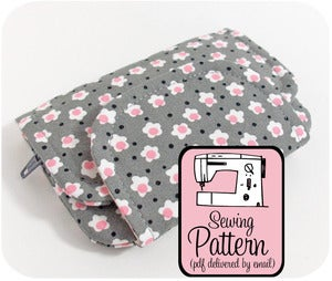 Image of Zip Pocket Pouches PDF Sewing Pattern