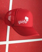 Image of Wiskullsin Hat (Red/Red)