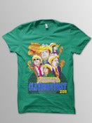 Image of Youth Cleverlyfest Kelly Green T Shirt