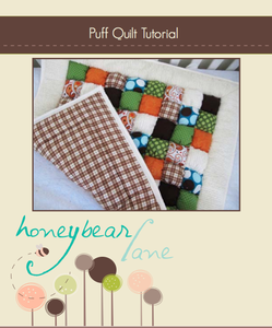 Image of Puff Quilt Tutorial: PDF Printable Version