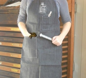 Image of Ladies of Letterpress Printer's Apron