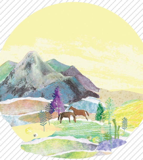 Image of Mountains Art Print A3 A4