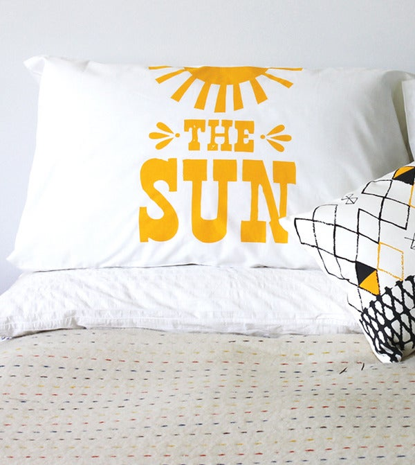 Image of Sun Shines Pillow Case Set