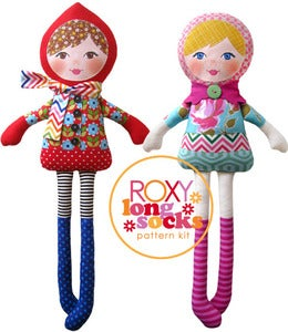 Image of Roxy Longsocks Pattern Kit