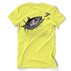 Image of Tuna Sandwich T-Shirt - Yellow